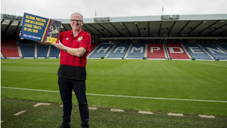 Alex McLeish says his squad need to change their game plan
