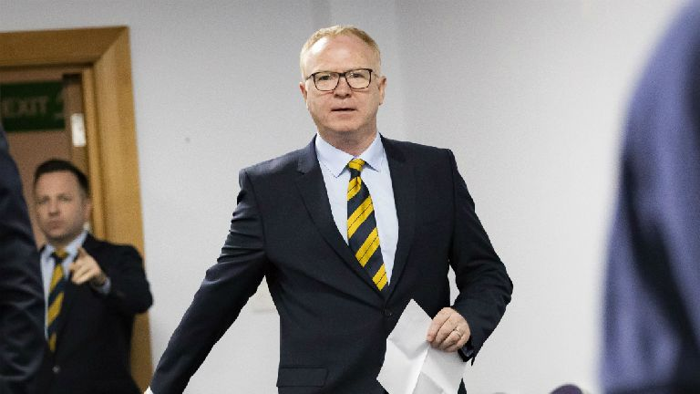 McLeish insists there is 'nothing sinister' in call-offs
