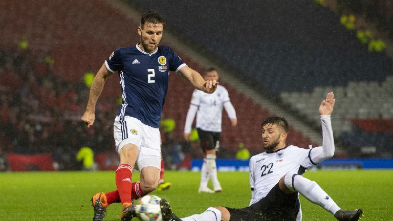 O'Donnell 'over the moon' with Scotland starting spot