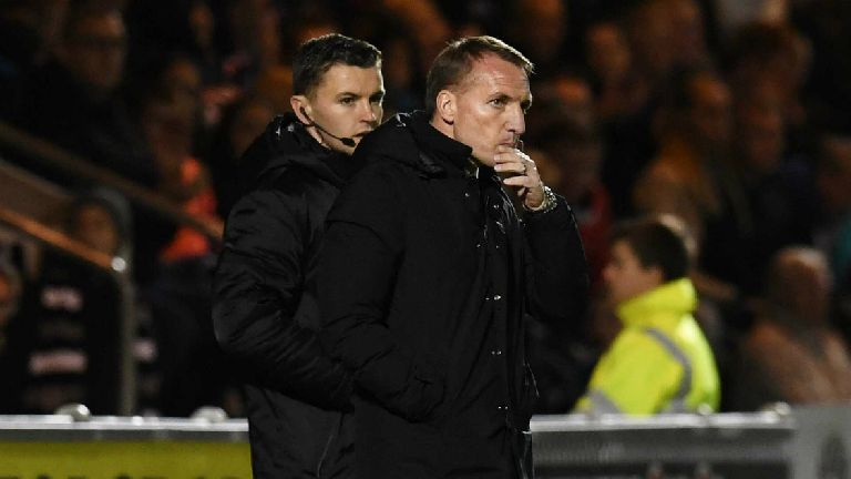 Officials frustrate Rodgers as St Mirren hold Celtic