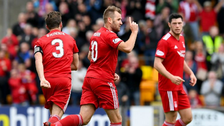 McInnes hails McGinn as 'big moment' player after goal