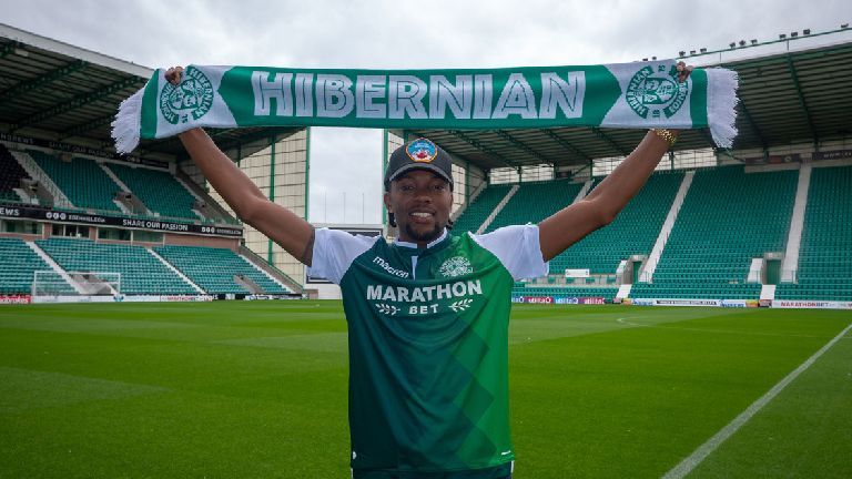 Hibernian announce signing of defender Miquel Nelom