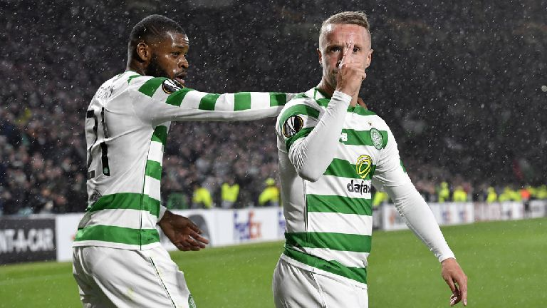 Celtic 1-0 Rosenborg: Griffiths strikes late to seal win