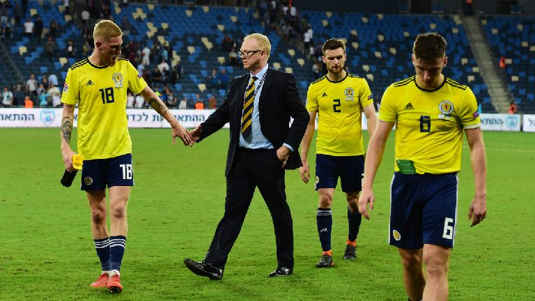 Ecksit: McLeish's dozen games in second Scotland spell