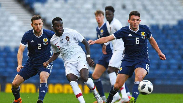 Scotland better with four at the back, says McGinn