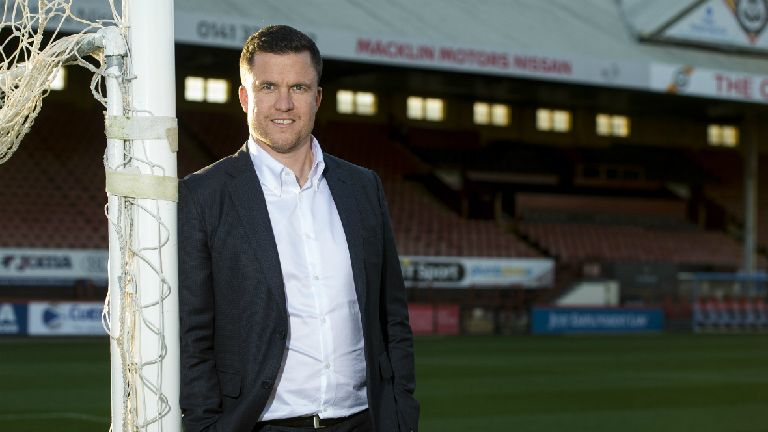 Gary Caldwell: I'll thrive on Thistle promotion pressure