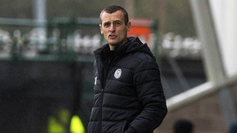 Kearney's exit from St Mirren 'completely his choice'