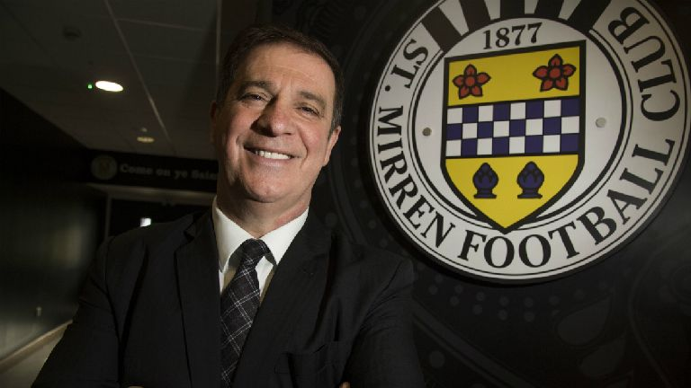 St Mirren chief Fitzpatrick vows to ban coin-throwers