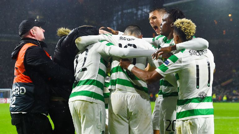 Edouard strikes late for Celtic to sink RB Leipzig