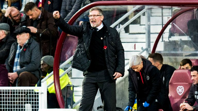 Levein laments Hearts' lack of cutting edge in Killie loss