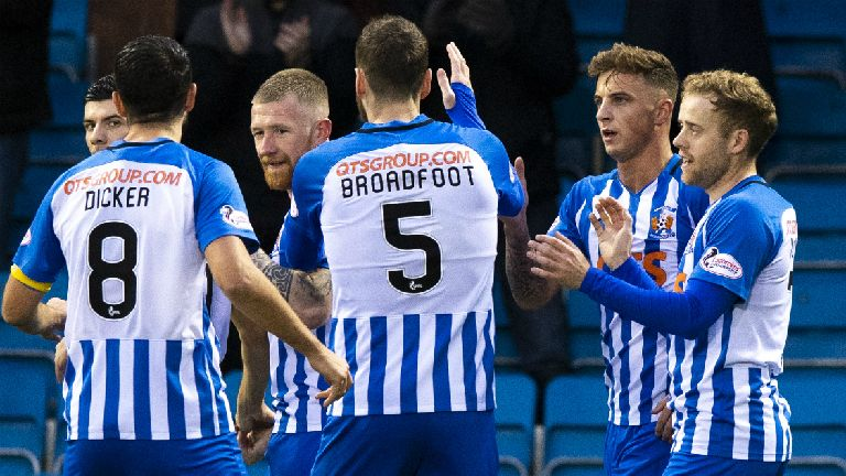 Killie defeat Hibs as Livingston and Hamilton win