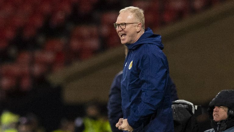 McLeish, Martinez and Maxwell react to the Euro 2020 draw