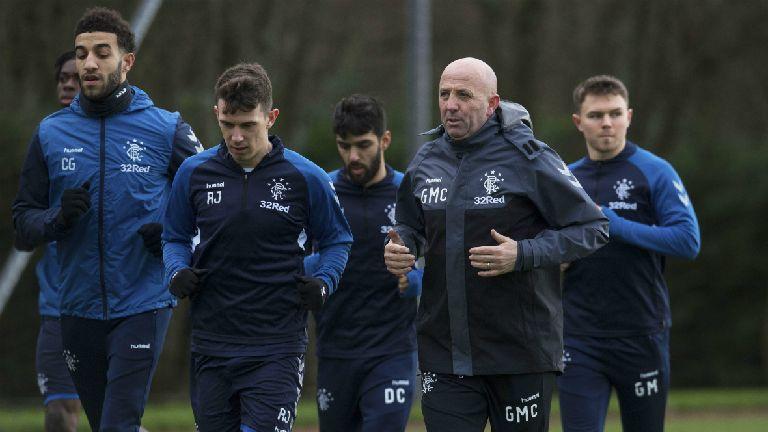 McAllister: Rangers working hard on 'discipline problem'