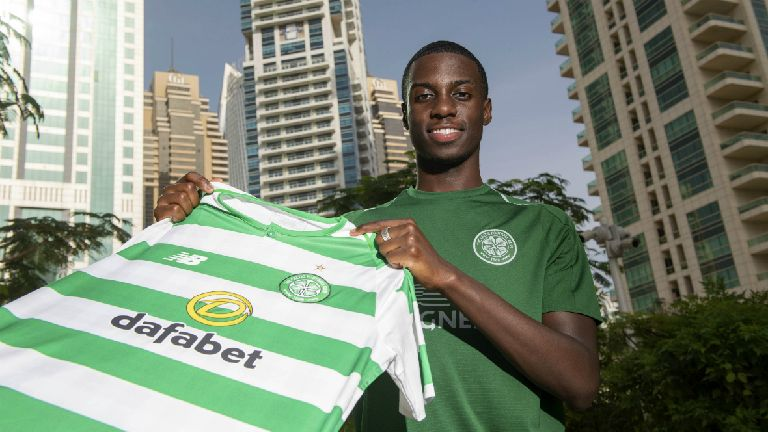 Timothy Weah to give 'blood, sweat and tears' for Celtic