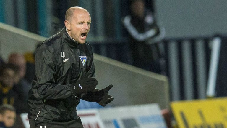 Dunfermline part company with manager Allan Johnston