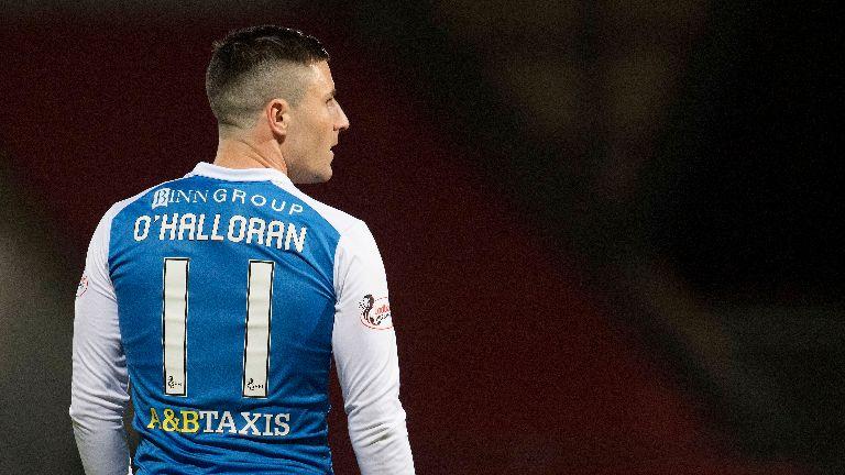 St Johnstone snap up free agent Michael O'Halloran
