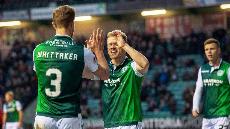Hibs should have scored more than four, says Garry Parker
