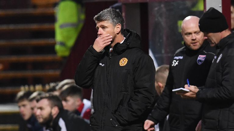 Robinson shoulders blame for Motherwell's cup exit