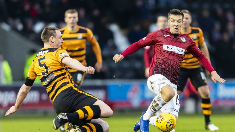 St Mirren win appeal against Brad Lyons' second booking