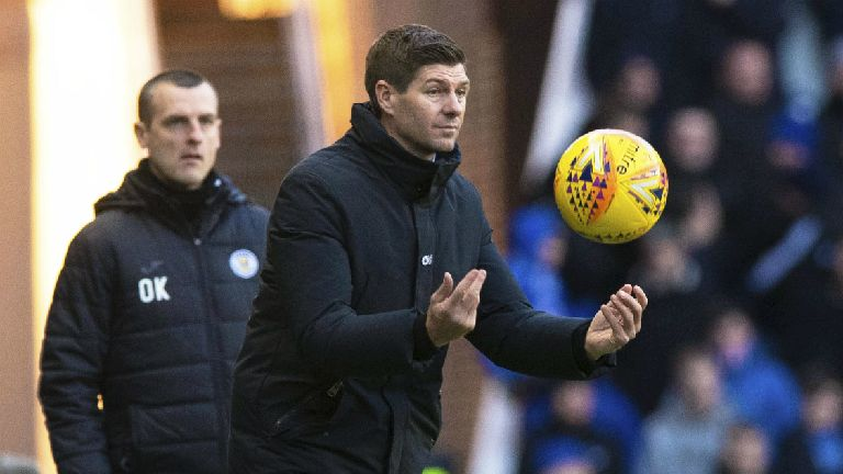 Rangers could have had five penalties, claims Gerrard