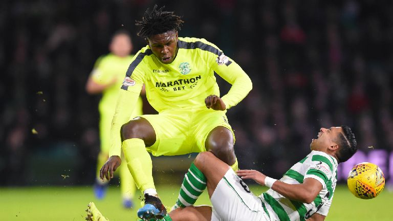 Hibs defender Darnell Johnson to serve two-match ban