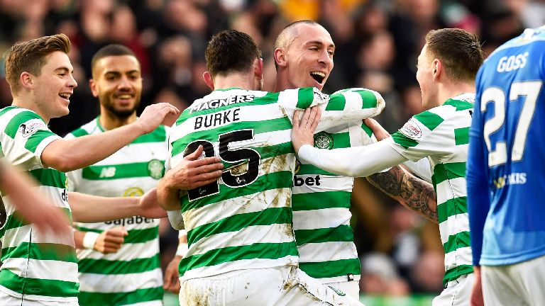Scottish Cup: Celtic thrash St Johnstone to reach quarters