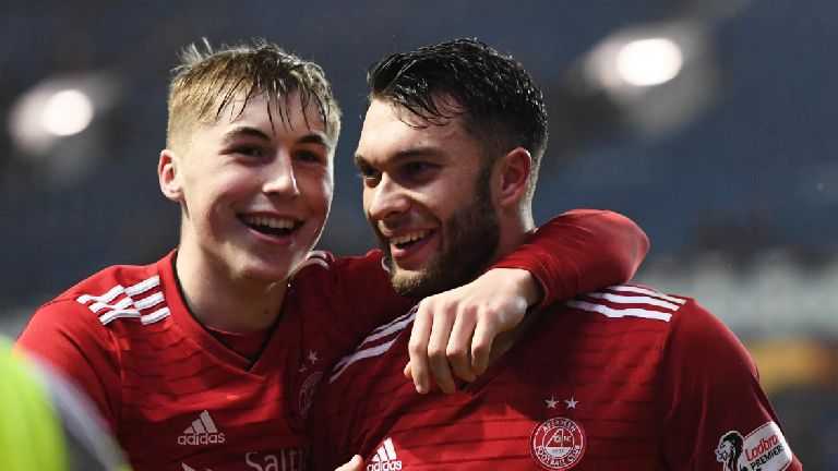 McInnes delight as young guns 'step up' to star for Dons