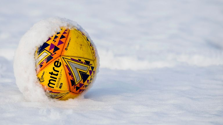 St Johnstone v St Mirren off as football affected by snow