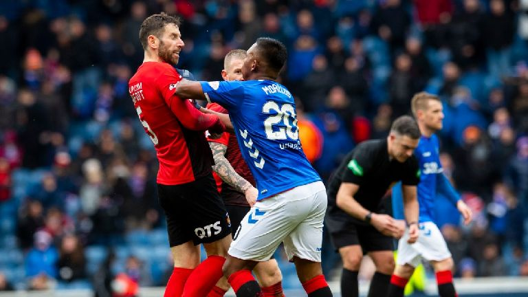 Alfredo Morelos and Kirk Broadfoot cleared over Ibrox clash