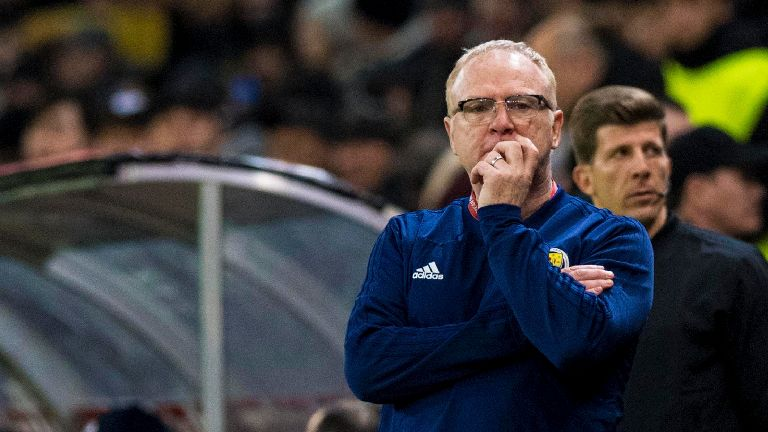 McLeish vows to carry on as Scotland manager after defeat