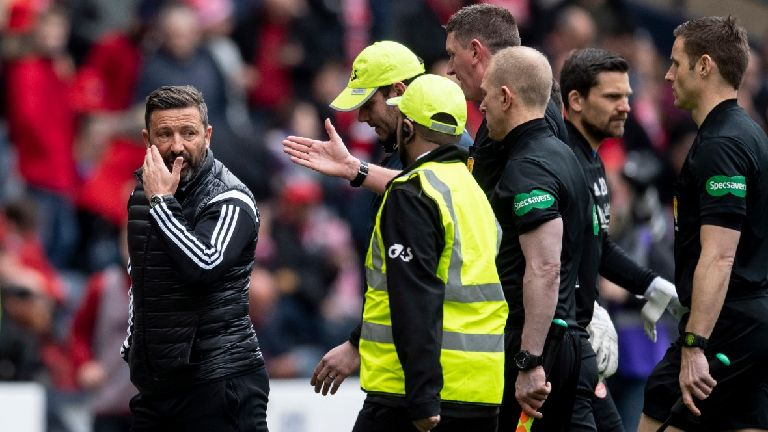 Sectarian abuse aimed at Derek McInnes probed by police