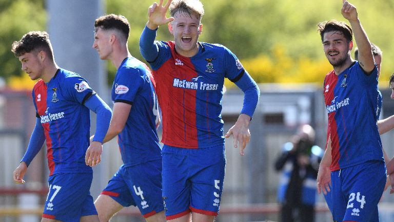 Inverness Caley book play-off clash with Dundee United