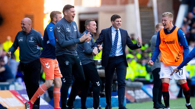 Gerrard: Rangers can take belief after dominating Celtic