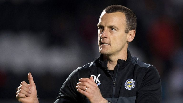 Kearney: Staying up would be St Mirren's best achievement