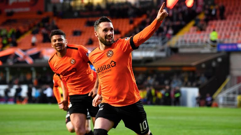 Dundee Utd beat Inverness to reach Premiership play-off final