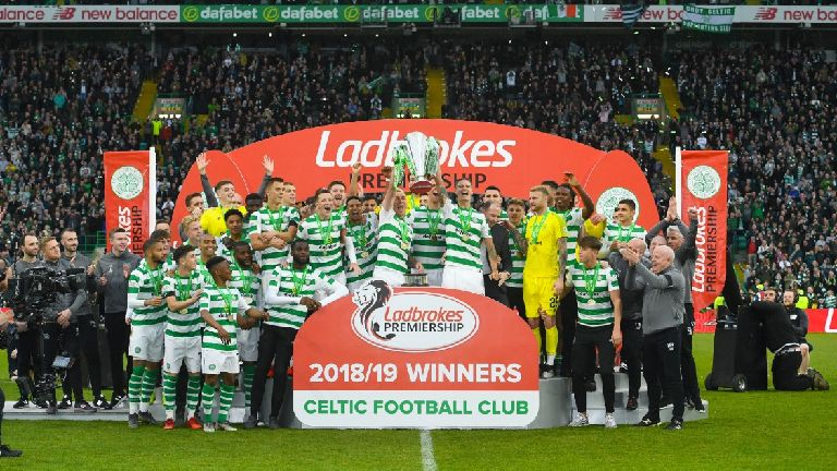 Celtic round off league campaign with victory over Hearts