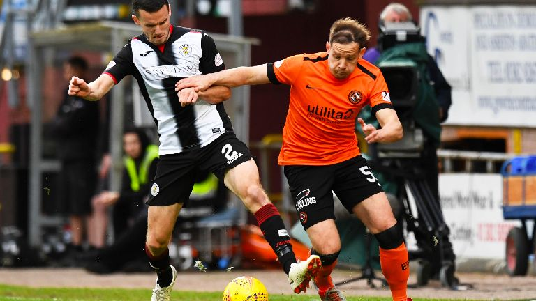 Premiership play-off on knife edge after draw at Tannadice