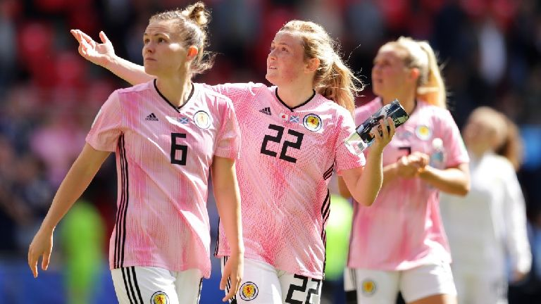 World Cup: Scotland suffer 2-1 defeat to Japan in Rennes