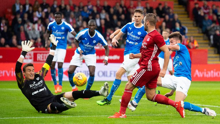 Aberdeen kick off European campaign with 2-1 home win
