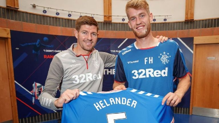 Rangers sign Swedish defender Filip Helander from Bologna