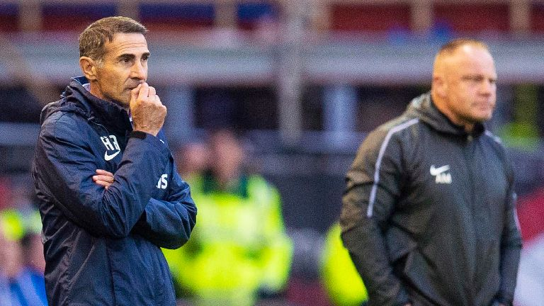 Alessio says 'I'm sorry' after Kilmarnock's shock defeat