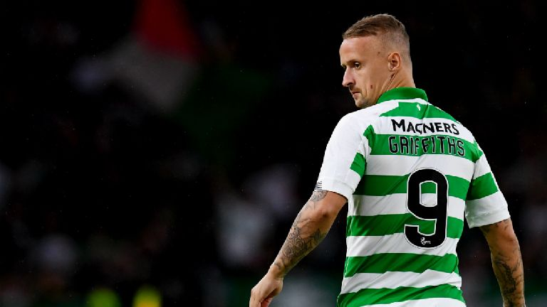 Griffiths savours Celtic return after battle with depression