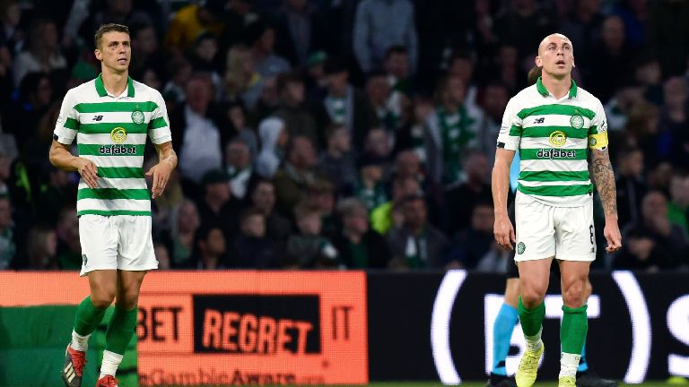 Celtic out of Champions League after 4-3 defeat to Cluj