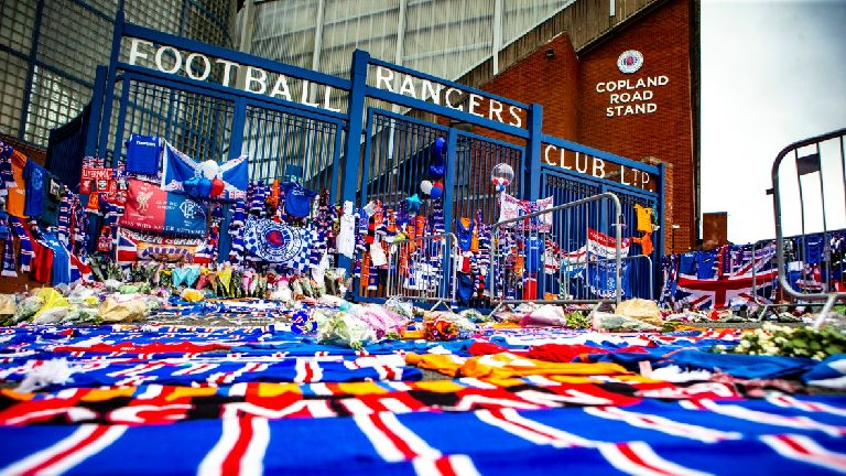 Fans to honour Rangers legend Ricksen before Feyenoord clash