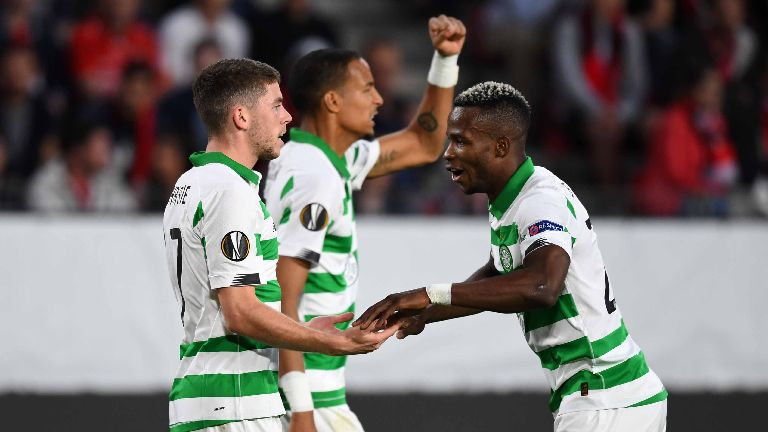 Celtic bounce back to earn 1-1 draw with Rennes
