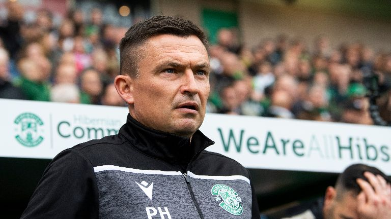 Hibs boss Heckingbottom gets three-match ban for misconduct