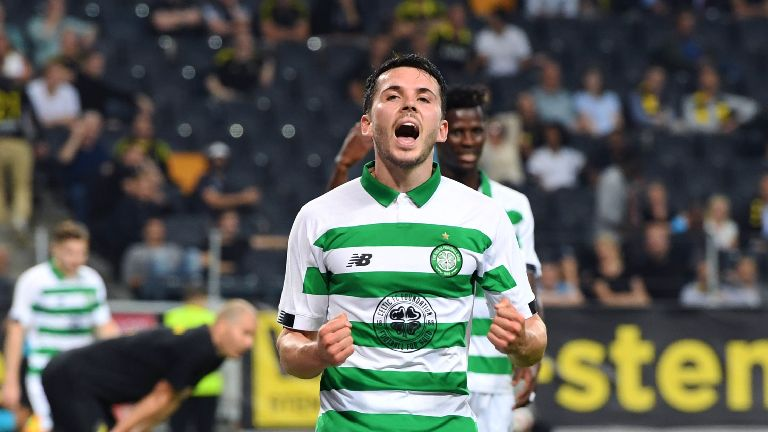 Celtic's Lewis Morgan called up to Scotland squad
