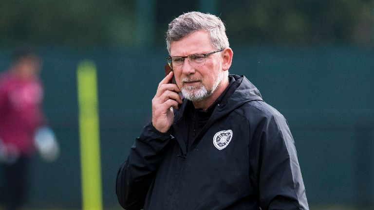 Levein: Returning players can help Hearts hit stride at home