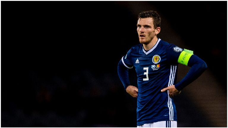 Captain Robertson heads list of Scotland withdrawals