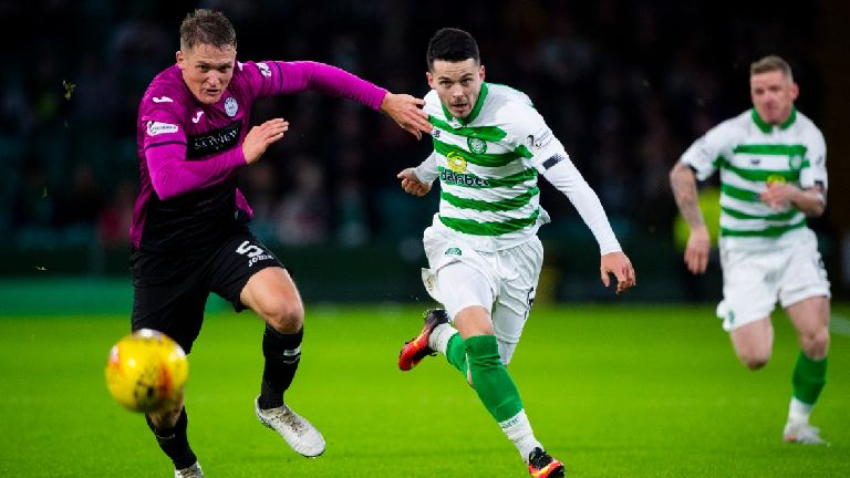 St Mirren want to re-sign Lewis Morgan from Celtic